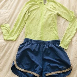 2 for 1: Athletic shirt and short combo